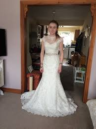 wedding dress brand brand new stunning ronald joyce romina 68013 wedding dress size
