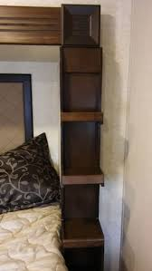 119 best gateway full profile fifth wheels heartland rvs images we re marveling the nightstand shelving in the gateway 3680fb storage designed with you heartlandnightstandshelvingorganizingwheels