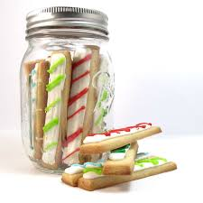 christmas cookie sticks to fit in holiday gift jars for christmas