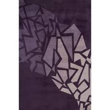 Purple And Grey Area Rugs Modern Purple Area Rugs Allmodern