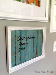 Upcycling Old Windows - how to repurpose old picture frames