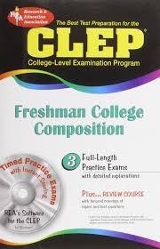 clep freshman college composition clep test preparation editors