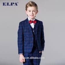 elpa slim designer kids suits plaid fancy 3 piece boys suits buy