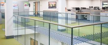 Banisters Uk Renowned Skanska Group Selects Q Railing Glass Banisters
