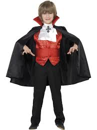 dracula boy vampires count scary evil horror halloween fancy dress