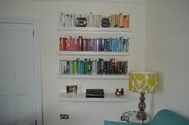 Bookshelf Astounding Ikea Bookshelf Wall by Astounding Book Wall Shelves Creative Ideas Design Mount For Sale