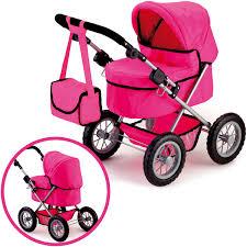 bayer design puppenwagen bayer design mein erster puppenwagen trendy pink bei nunon de
