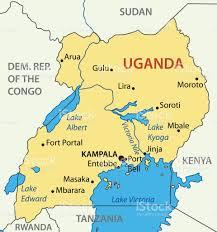 Lake Victoria Africa Map by Republic Of Uganda Vector Map Stock Vector Art 647567112 Istock