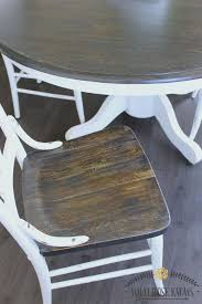 kitchen table refinishing ideas best 25 paint kitchen tables ideas on paint a kitchen