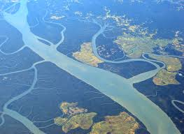 Delta Route Map by Irrawaddy River Wikipedia