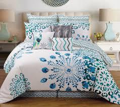 Best 10 Blue Comforter Sets by 9 Piece Polona Cotton Comforter Set