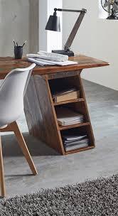 Schreibtisch Extra Lang Sam Vintage Schreibtisch Bürotisch 160 Cm Massivholz Himalaya