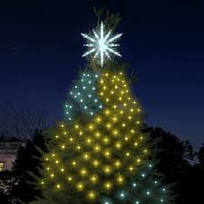 how to program christmas lights you can program the lights on a white house christmas tree