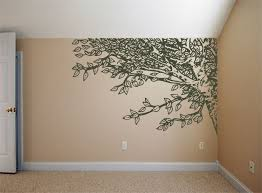 White Tree Wall Decal Nursery by Painted Tree Silhouette On My Bedroom Wall Next To Window