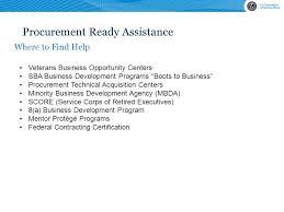 Veterans Affairs Help Desk Prisco Eric Ravelli Small Business Specialist U S Department Of