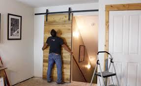 interior sliding barn doors for homes a sliding barn door home remodel design ideas
