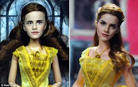 artist transforms beauty beast doll daily mail