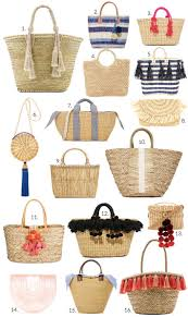 best 25 straw bag ideas on pinterest basket bag bag and wicker