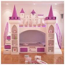 chambre complete fille lit superposé chateau pour la chambre fille princesse lit rosny