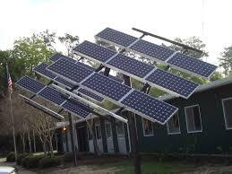 solar panels tracking solar panels