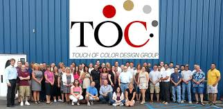 our company touch of color