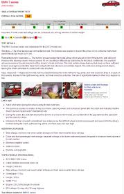 lexus es iihs update f30 bmw 3 series earn marginal ratings in new iihs crash test