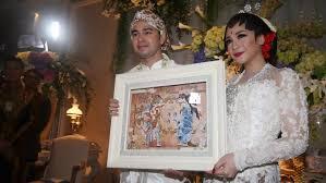 wedding dress nagita slavina foto resepsi raffi ahmad nagita slavina jpg 750 308 brides