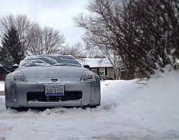 nissan 350z in snow overview for jreeves3