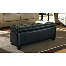 coffee table view in gallery dark brown leather upholstered