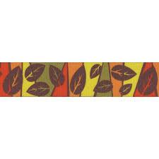 fall ribbon buy 7 8 inch fall leaves grosgrain ribbon online