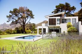 House With Swimming Pool Modern Home With Swimming Pool Stock Photo Getty Images