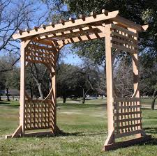 5 Ft Patio Swing With Cedar Pergola Create by Colonial Arbor Swing Stand