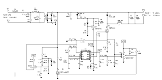 component power led driver circuit diagram high white tip higher