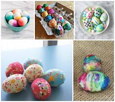Easter Egg Decorating With Paper by Hello Wonderful 20 Crazy Colorful Easter Egg Decorating Ideas