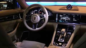 porsche inside view porsche panamera 2017 interior youtube