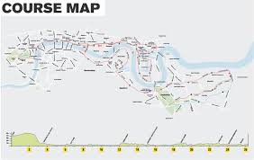 Maps Route by London Marathon 2016 Route Maps And Where To Watch The Race