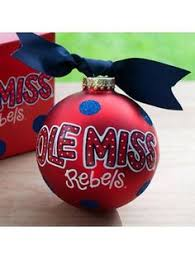 world ole miss wreath glass ornament 64009 shops