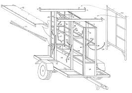 Ford Escape Fuse Box - patent us6955384 rack system for construction scaffolding