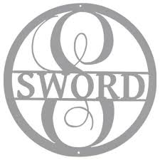 last name monogram custom letter last name circle monogram kaktos waco tx
