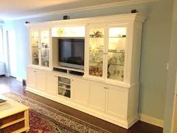 glass cabinet doors for entertainment center custom white entertainment center with glass doors