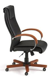 modern leather desk chair 560 l ofm modern high back leather executive office chair