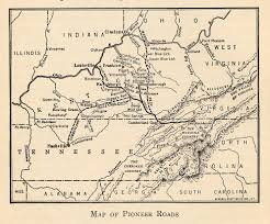 Kentucky Tennessee Map by Secretary Of State Geographic Materials