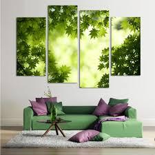 Peinture Moderne Pour Salon by Online Get Cheap Vert Peinture Salon Aliexpress Com Alibaba Group
