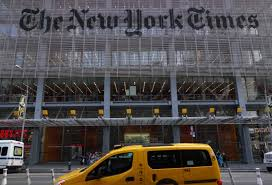 the new york times has new york times finance chief james follo to retire wsj