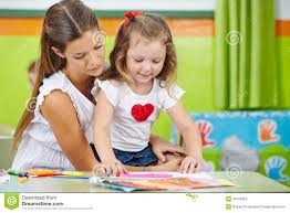 doing arts and crafts stock photo image 40769952