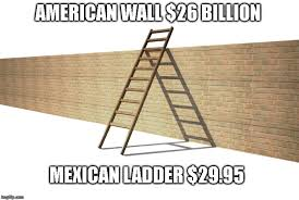 Ladder Meme - image tagged in build a wall imgflip