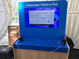 Google Pod by Whack A Pod The Kubernetes Cluster Whack A Mole Game