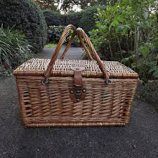 best picnic basket best wicker picnic basket products on wanelo