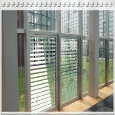 Glass Blinds Adjustable Ventilation Glass Window Blinds Global Sources