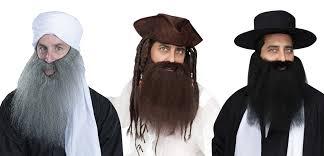 beard halloween costumes crimped beard assortment halloween